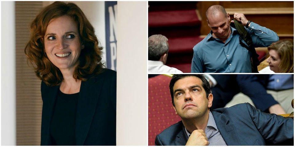 """NKM et """"le discours porté par de beaux hommes musclés"""" en Grèce"""
