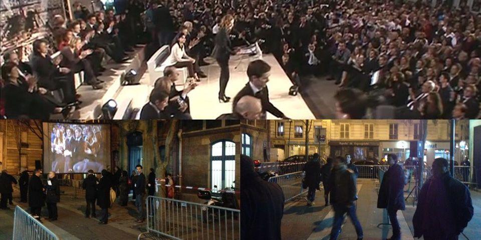 NKM exagère la foule venue à son meeting parisien
