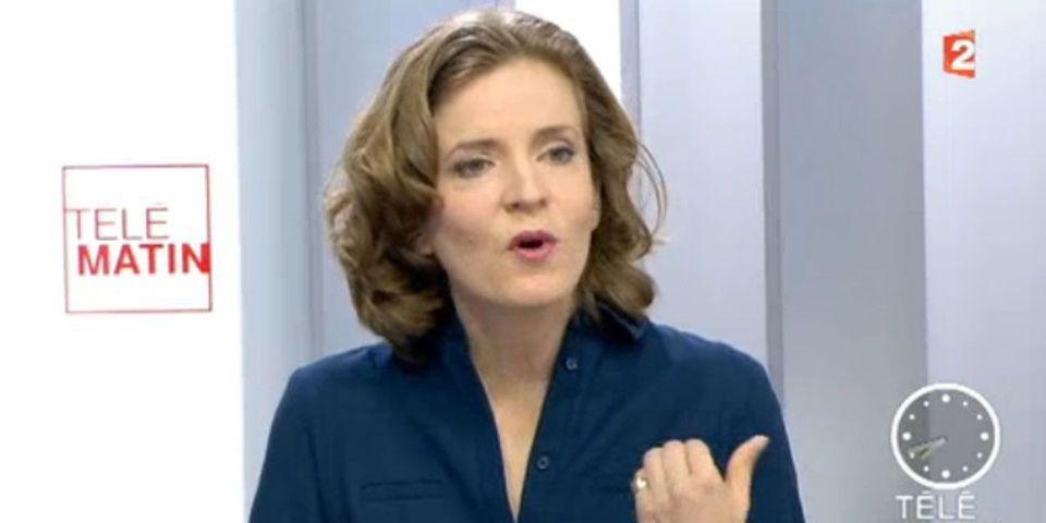 """NKM raille les multiples confessions de Hollande : """"quand est-ce qu'il travaille ?"""""""