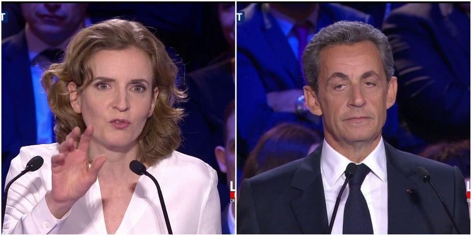 """NKM se moque implicitement de Sarkozy qui """"balayait la cour de la caserne"""" durant son service militaire"""