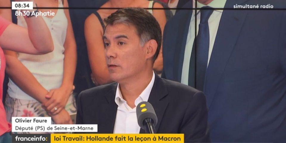 Olivier Faure souhaite que le futur Premier secrétaire du PS ne soit pas aspirant candidat à la présidentielle