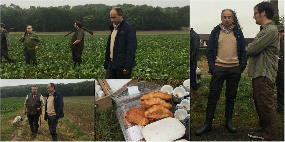 """On a fait l'ouverture de la chasse en Seine-et-Marne avec Jean-François Copé, qui veut parler aux """"pointés du doigt"""""""