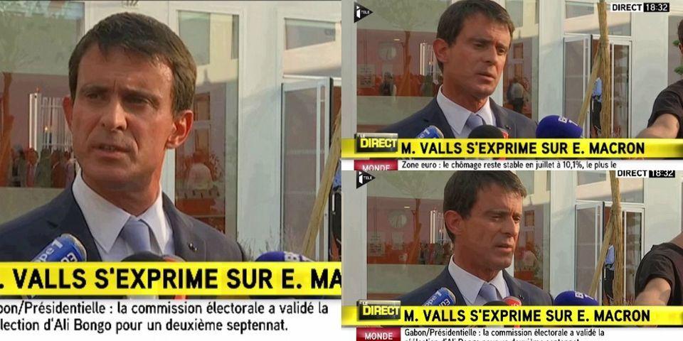 """""""On ne peut pas déserter"""" : Manuel Valls explique que lui restera jusqu'au bout, contrairement à Emmanuel Macron"""