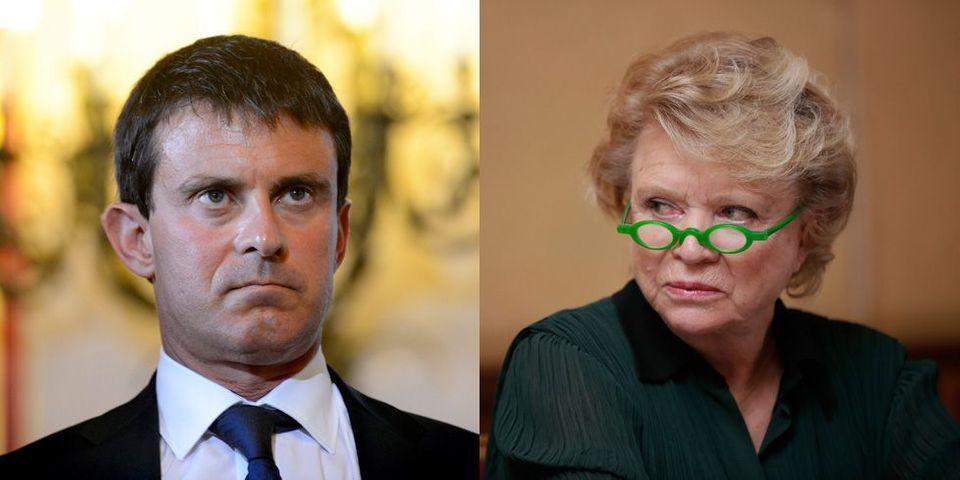 """Opération """"feu sur Manuel Valls"""", jour 2: au tour d'Eva Joly et Esther Benbassa"""