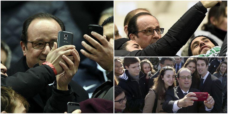 Où l'on apprend que François Hollande ne veut pas refuser de selfies à d'anciens délinquants