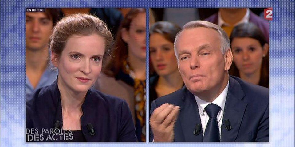 """Oups, le lapsus de Ayrault : """"C'est ce qu'a dit François Hollande... Heu, Nicolas Sarkozy"""""""