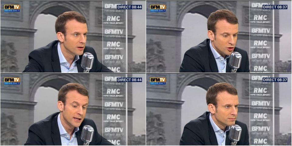 Passe d'arme entre Emmanuel Macron et un ancien salarié de Goodyear sur le plateau de BFMTV