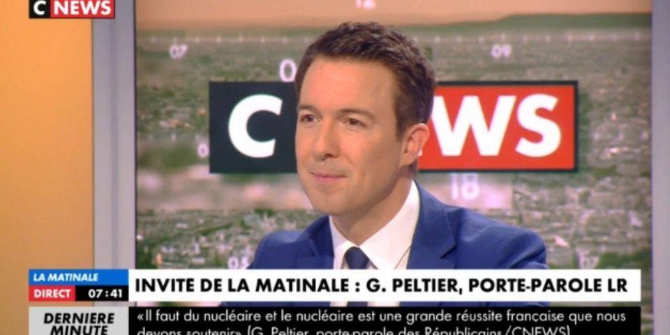 """Passé du FN à de Villiers avant de rejoindre l'UMP, Guillaume Peltier estime être """"un exemple de ce qu'il faut faire"""""""