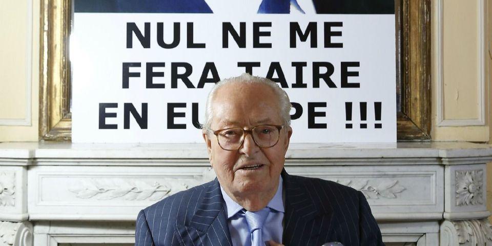 """Pendant ce temps, à Montretout : la grosse embrouille entre Jean-Marie Le Pen et un journaliste à propos de """"Monseigneur Ebola"""""""