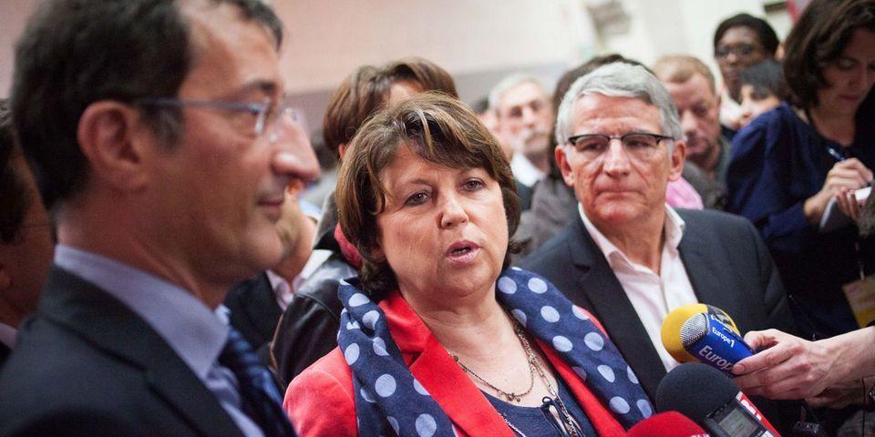 Pendant ce temps-là : parallèlement au Conseil national du PS à Paris, Aubry annonce l'arrivée de Lamy à Lille