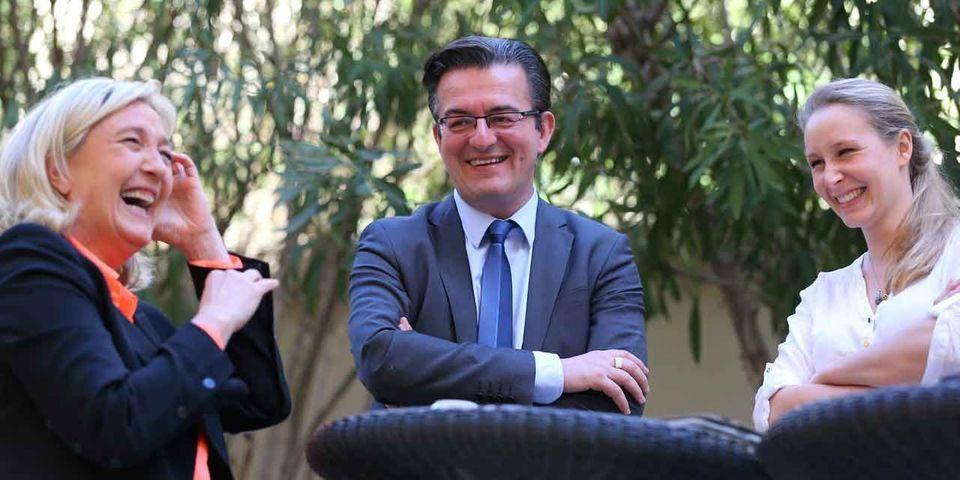Philippe Lottiaux, candidat FN défait à Avignon, arrive à Fréjus