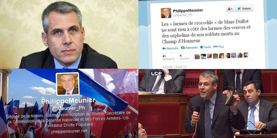 Philippe Meunier, le député UMP qui a attaqué Cécile Duflot est un récidiviste de la provocation