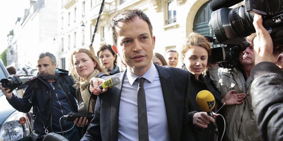 """Pierre-Yves Bournazel, candidat UMP dans le 18e arrondissement de Paris, dit son """"admiration"""" pour Bertrand Delanoë dans un document de campagne"""