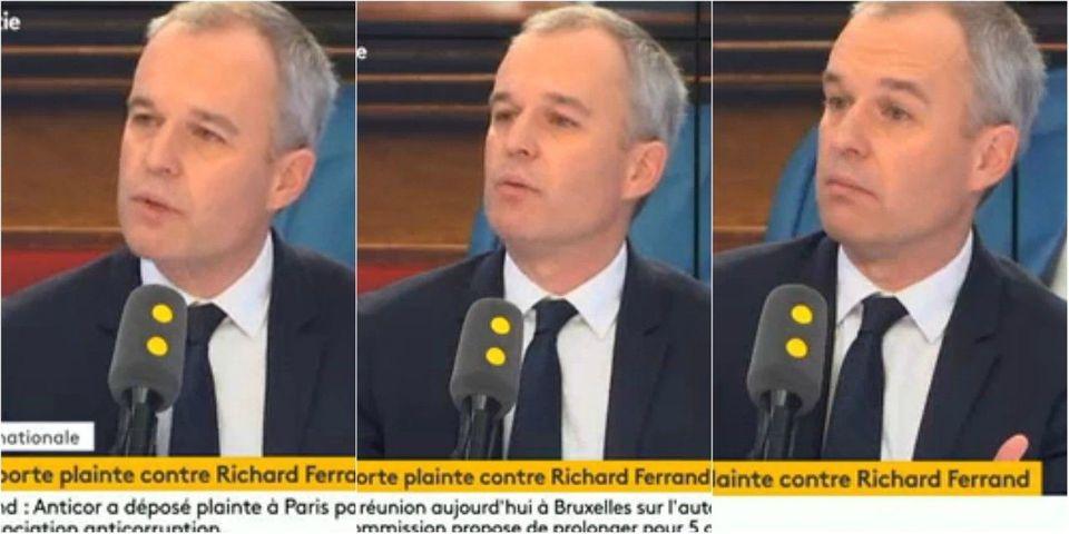 """Plainte contre Richard Ferrand : François de Rugy estime qu'Anticor fait """"perdre son temps à la justice"""""""