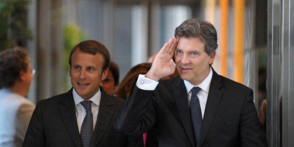 """Pour Arnaud Montebourg, Emmanuel Macron est """"le labrador à poil lisse de François Hollande"""""""