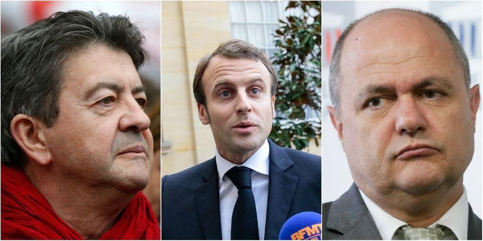 """Pour Bruno Le Roux, les propos de Mélenchon sur Macron """"le banquier"""" tiennent du """"racisme larvé"""""""