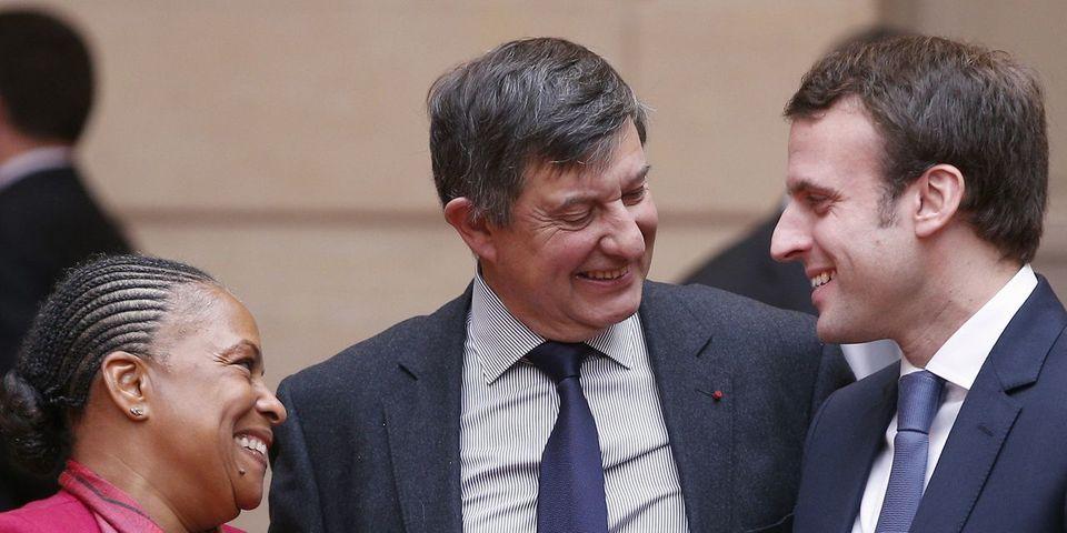"""Pour Emmanuel Macron, Christiane Taubira est un exemple de """"l'hémiplégie française"""""""