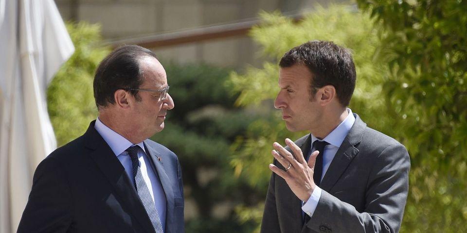 """Pour Emmanuel Macron, François Hollande est """"sociopathe"""""""