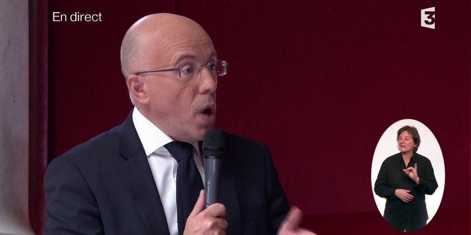 Pour Éric Ciotti, c'est encore de la faute du pouvoir si Nicolas Sarkozy est renvoyé en procès