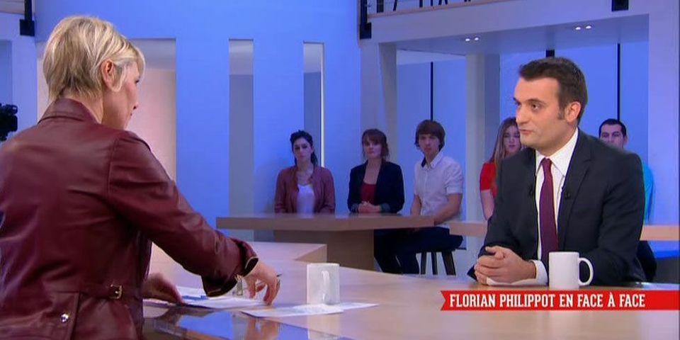 """Pour Florian Philippot, les propos de Bruno Gollnisch sur l'immigration sont """"très en dessous"""" de ce que disent les Français"""