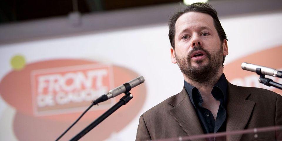 """Pour François Delapierre, du Parti de gauche, """"le ministre de l'Economie, c'est Monsieur Gattaz"""""""