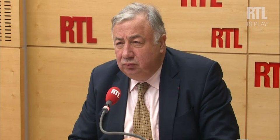 """Pour Gérard Larcher, le parti LR a évité """"l'implosion"""" de justesse après le 1er tour de la présidentielle"""