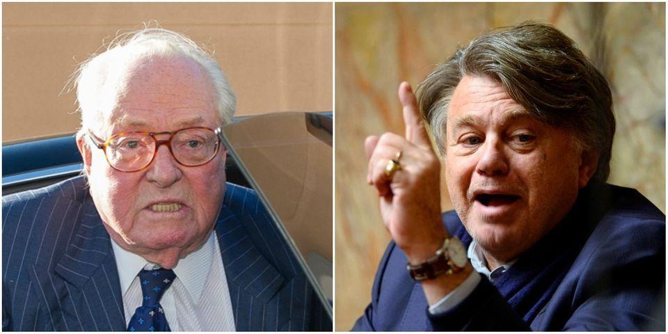 Jean-Marie Le Pen et Gilbert Collard s'insultent ouvertement sur Twitter après la dernière provocation du président d'honneur du FN