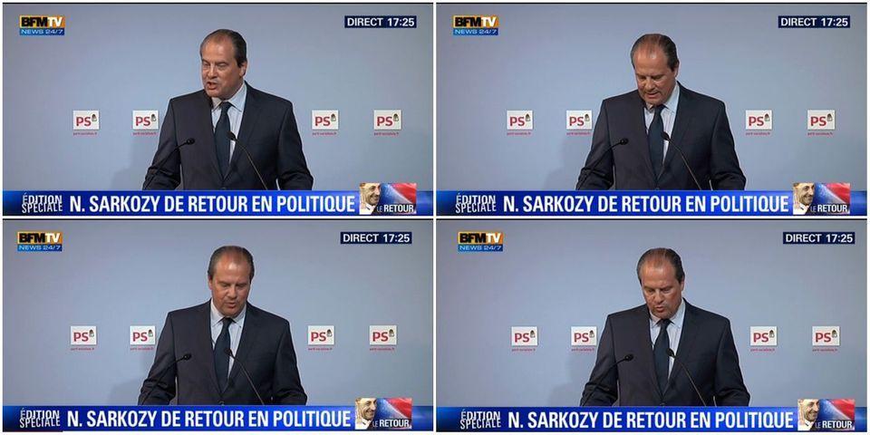 Pour Jean-Christophe Cambadélis, si Nicolas Sarkozy revient, c'est surtout pour échapper aux juges