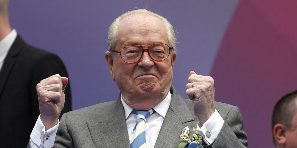 Jean-Marie Le Pen pas plus gêné par les hommages de Florian Philippot à de Gaulle que par quelqu'un qui irait sur la tombe de Pétain
