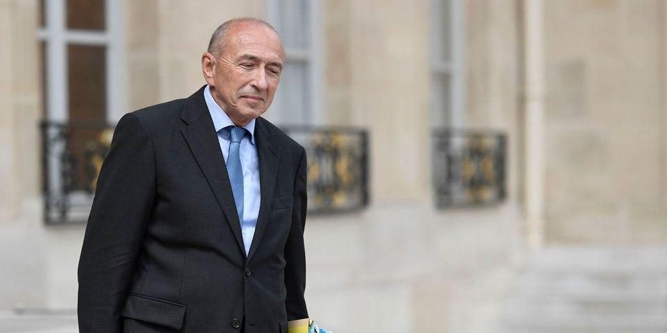 """Pour justifier l'entrée de l'état d'urgence dans le droit commun, Gérard Collomb pense """"aux familles des victimes"""" de l'attentat de Nice"""