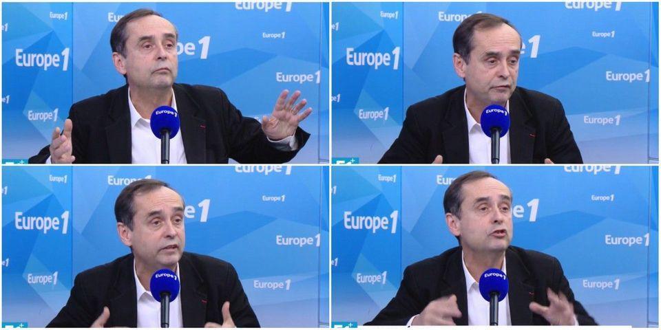 """Pour justifier son affiche sur le TGV, Robert Ménard se revendique de """"Charlie Hebdo"""" et """"Hara Kiri"""""""