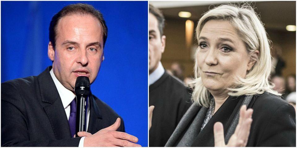 """Pour Lagarde, Marine Le Pen """"espère être la troisième chef d'État d'extrême droite"""" élue après Höfer et Hitler"""