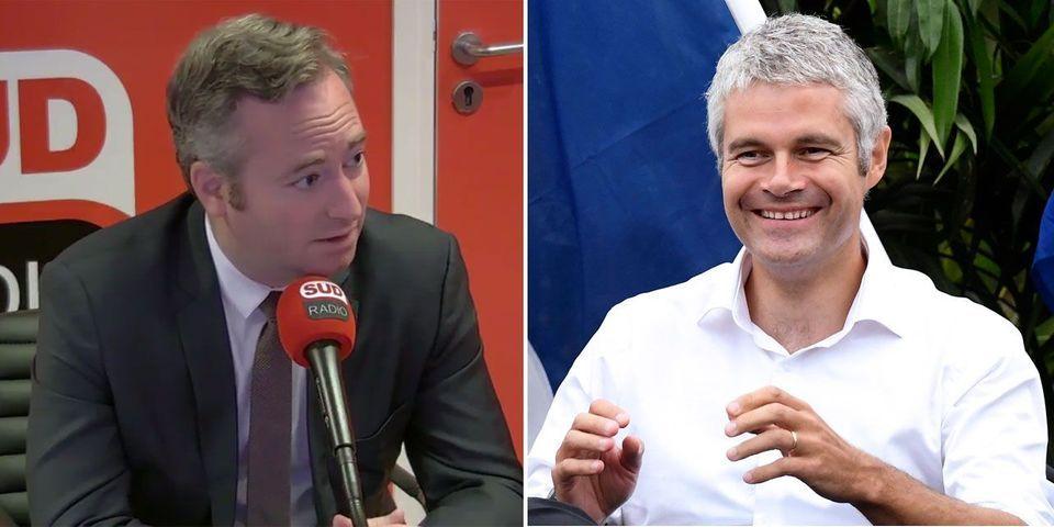 """Pour le secrétaire d'Etat Jean-Baptiste Lemoyne, Laurent Wauquiez """"refait la campagne de Nicolas Sarkozy en 2007"""""""