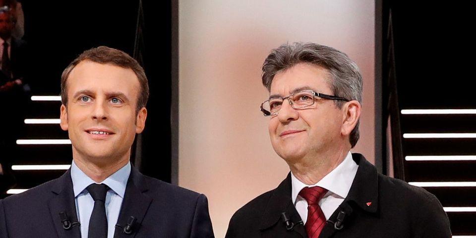 """Pour Macron, """"Mélenchon se comporte comme le FN"""" en n'assistant pas à sa visite à Marseille"""
