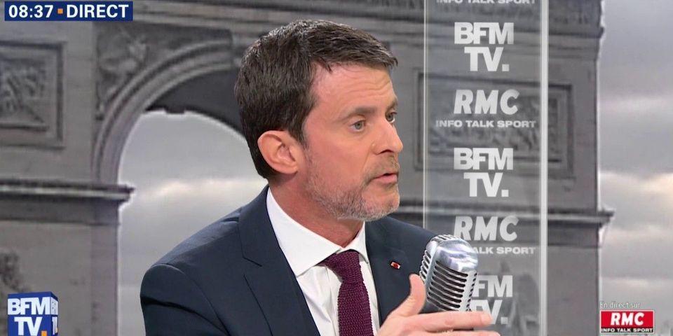 """Pour Manuel Valls, """"Jérusalem est la capitale d'Israël"""", """"de fait"""""""