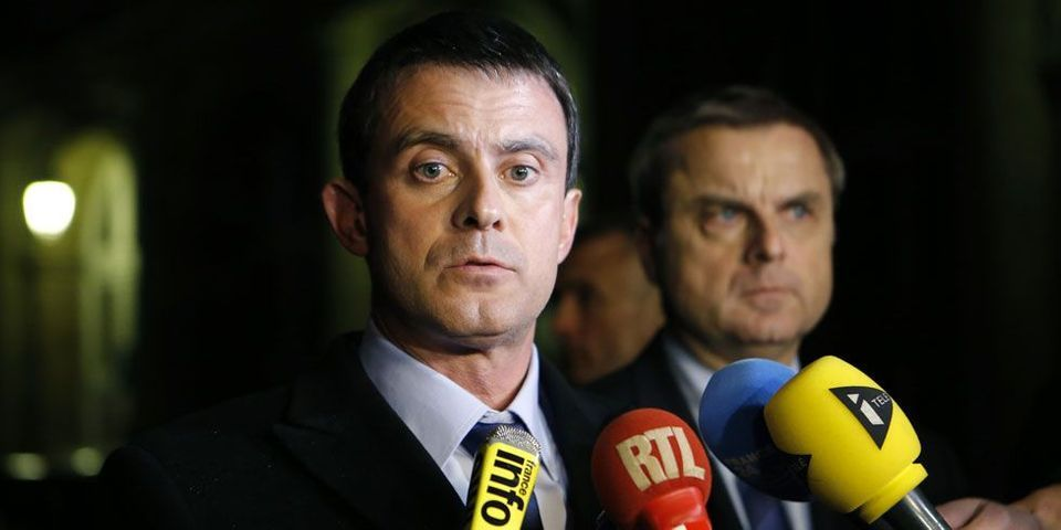 """Pour Manuel Valls, le soutien du FN à Dieudonné est """"la preuve que le FN est d'extrême droite"""""""
