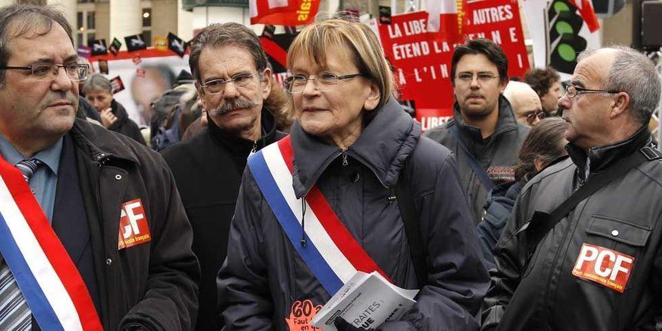 """Pour Marie-George Buffet, """"ce n'est pas une manif anti-Hollande, c'est une manif anti politique d'austérité"""""""