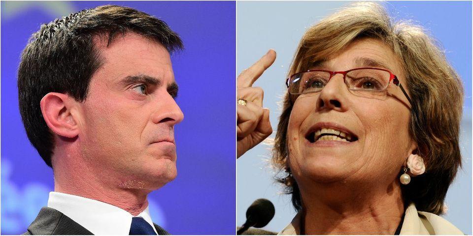 """Pour Marie-Noëlle Lienemann, """"Manuel Valls est un problème pour la France"""""""