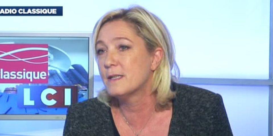 """Pour Marine Le Pen, l'équipe de France est """"un ramassis de gosses mal élevés"""""""