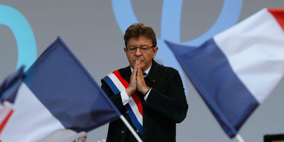 """Pour Mélenchon, FN et nationalistes """"rament"""" pour lui """"en contribuant à la construction d'un champ culturel"""" anti-Union européenne"""