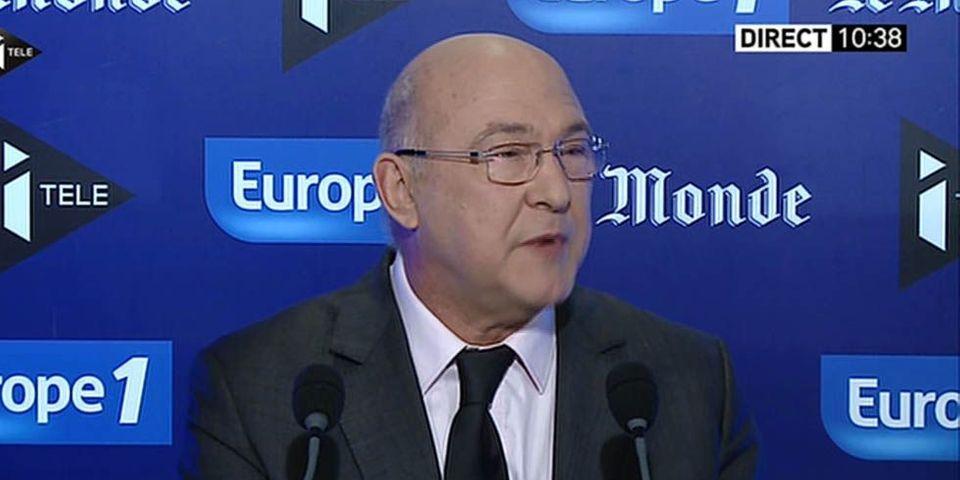 """Pour Michel Sapin, """"il n'y a plus de statut de première dame"""" en France"""