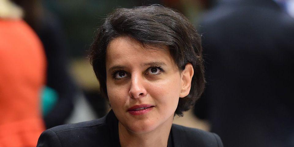 """Pour Najat Vallaud-Belkacem, un responsable politique a le même rôle qu'un """"père de famille à l'égard de ses enfants"""""""