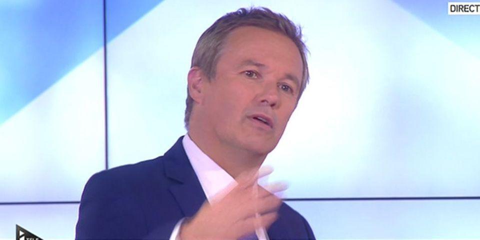 Pour Nicolas Dupont-Aignan, le FN est d'extrême-droite, mais pas Marine Le Pen