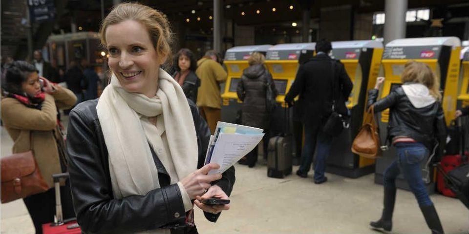 Pour NKM, le ticket de métro est à 4 euros