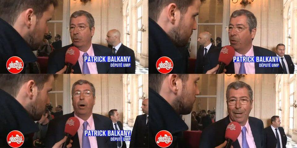 """Pour Patrick Balkany, être député c'est surtout """"se mettre les fesses sur son banc et attendre que ça se passe"""""""