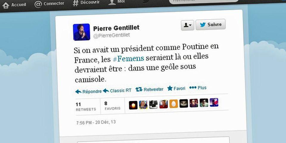"""Pour le président des jeunes de la droite populaire, les Femen """"devraient être dans une geôle sous camisole"""""""