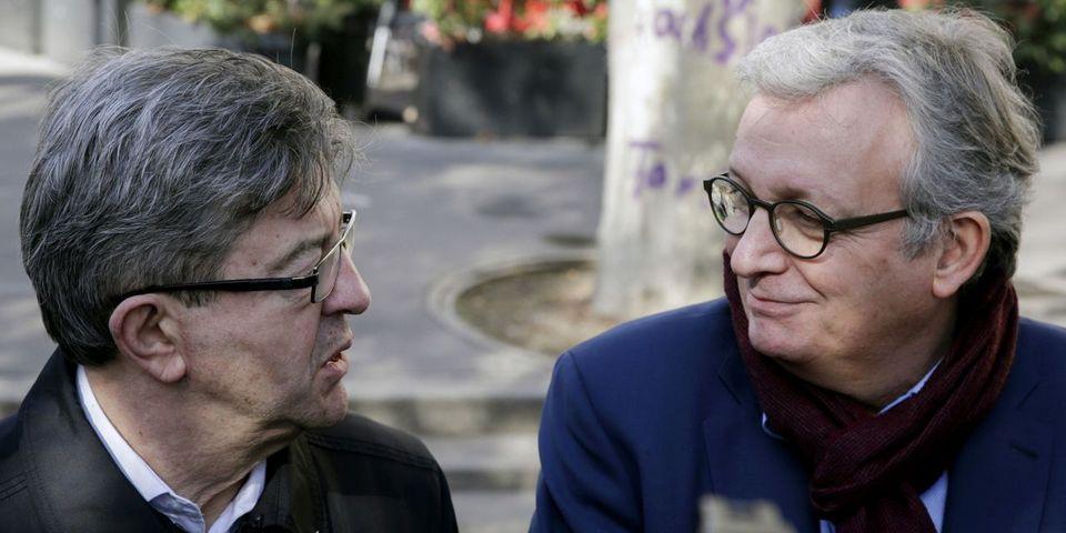 """Pour Pierre Laurent, Jean-Luc Mélenchon ne serait """"probablement pas"""" candidat à la présidentielle sans les parrainages du PCF"""