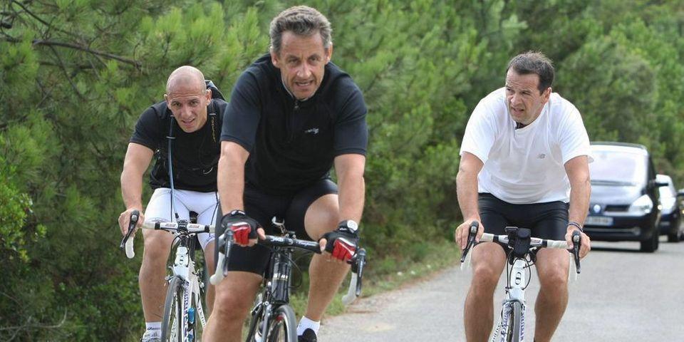 Pour ses vacances au Cap Nègre, Nicolas Sarkozy est sous haute protection policière