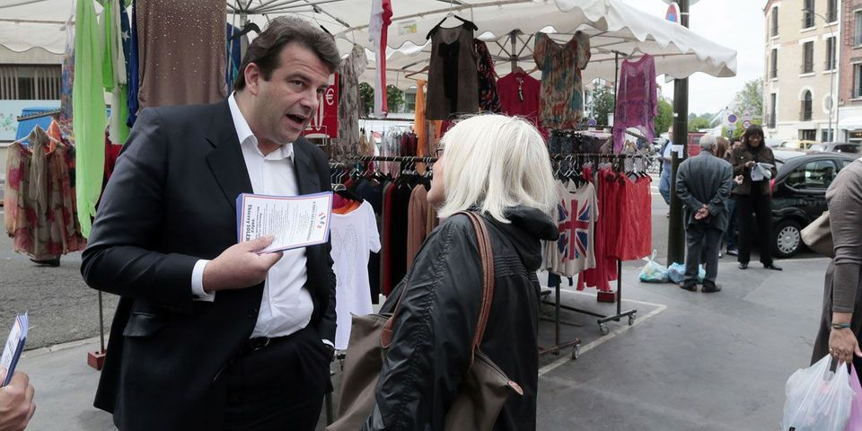 """Pour Thierry Solère, Marine Le Pen veut """"à terme s'allier avec la droite"""", comme les néo-fascistes italiens"""