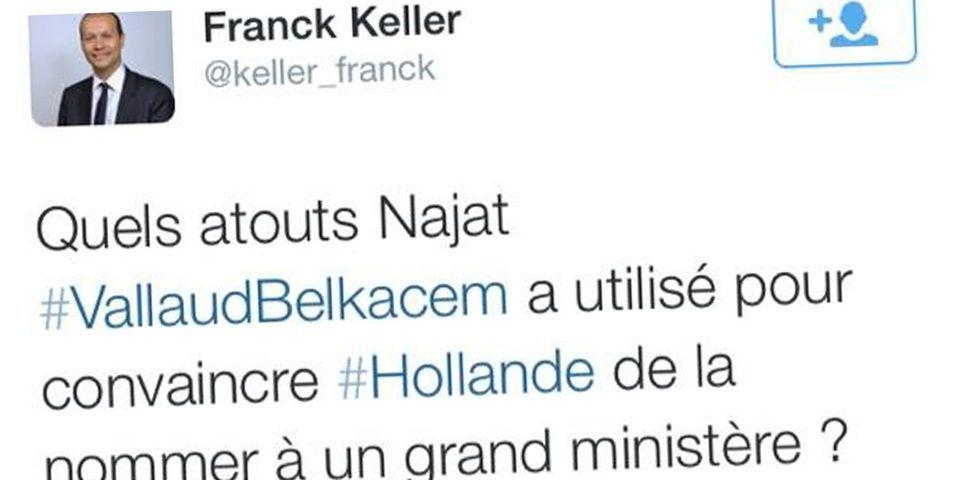 """L'élu UMP de Neuily-sur-Seine se défend de tout sexisme visant Najat Vallaud-Belkacem : """"Ce n'est pas parce qu'une femme est en jupe qu'elle a couché"""""""
